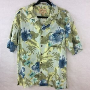 Havana Jacks 100% Silk Hawaiian 🌺 Shirt Large